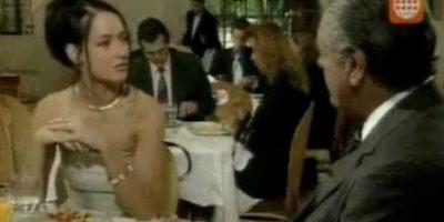 También su amante, pero muy interesada. Foto:vía Televisa