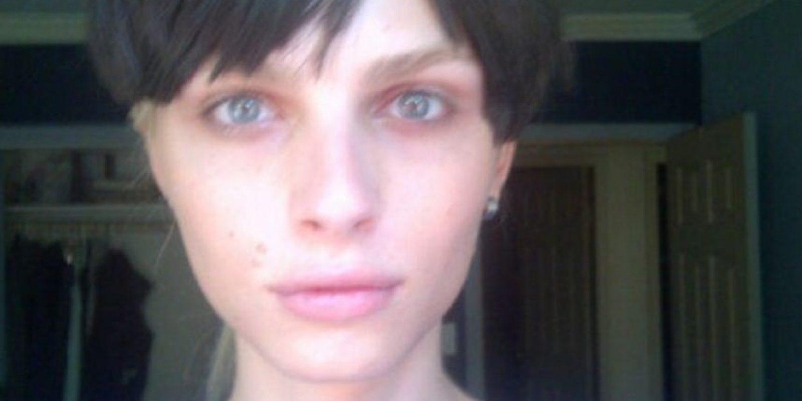 9. Así lucía el modelo Andrej Pejic antes de su transformación. Foto:Vía Twitter