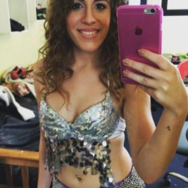 Con este look imitó a la colombiana. Foto:vía instagram.com/laura_esquivel