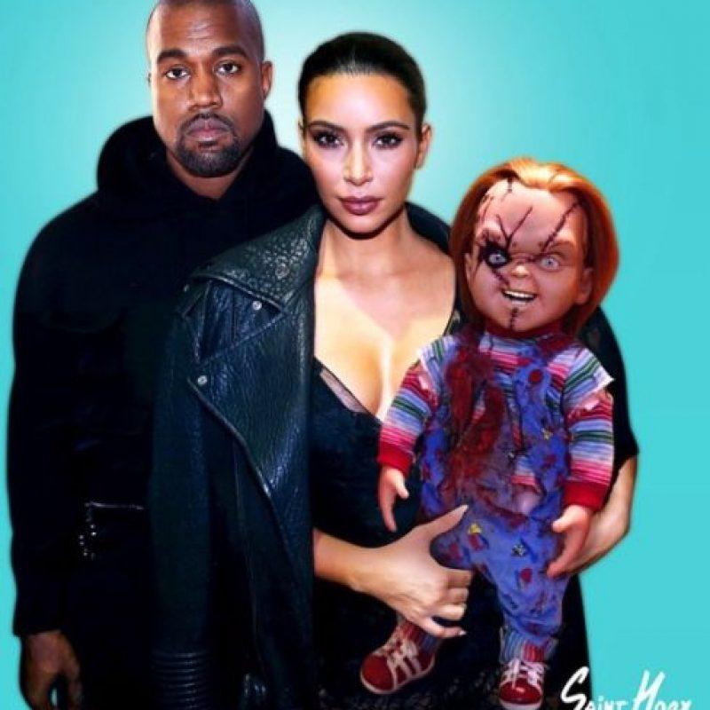La vida Kim y Kanye West. Foto:vía instagram.com/sainthoax