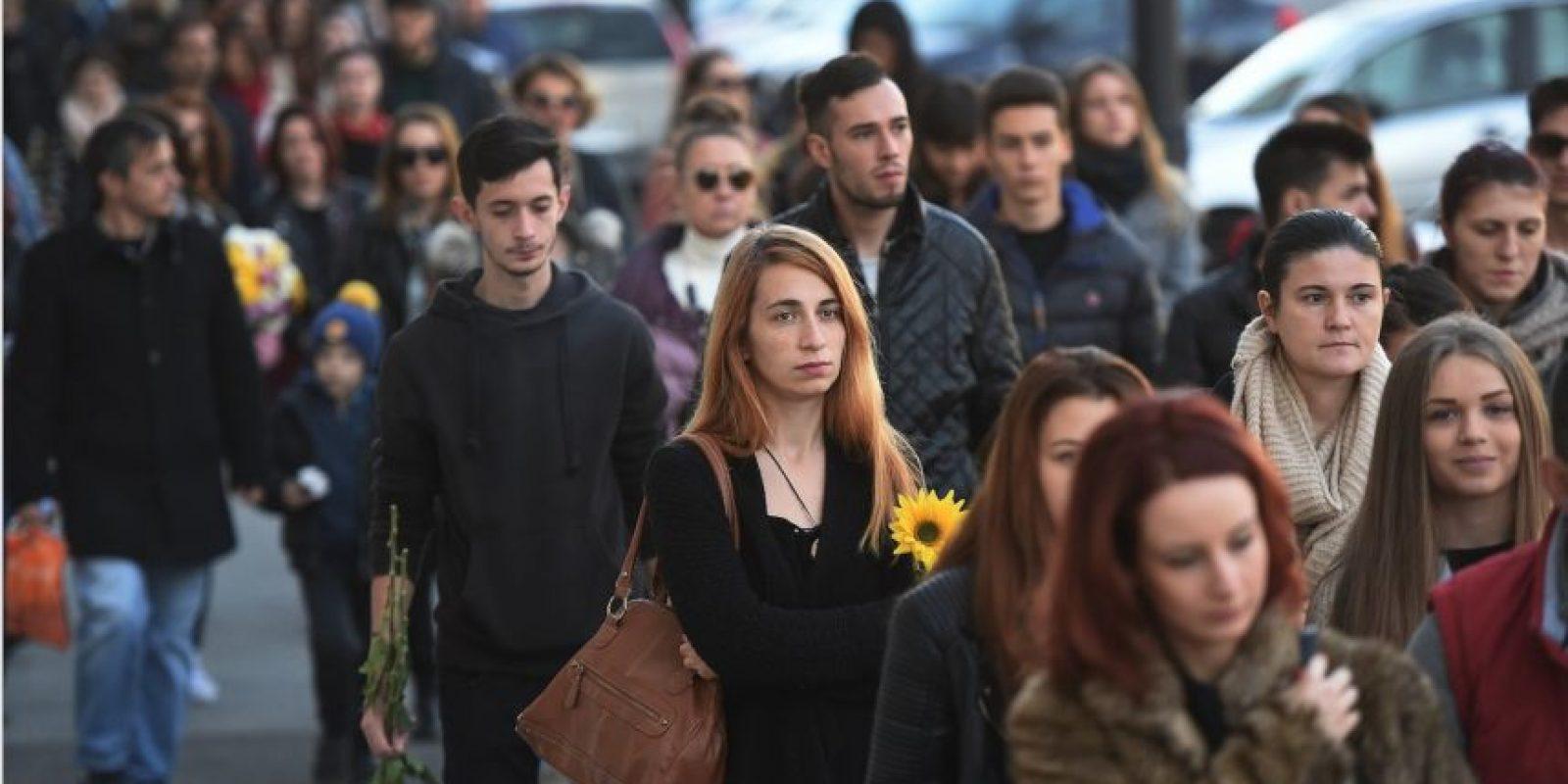 El cual dejó como saldo al menos 30 muertos. Foto:AFP