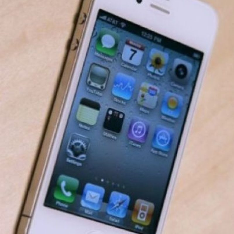 iPhone 4 (2010). Foto:Getty Images