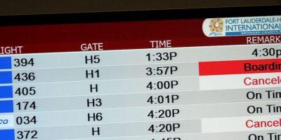 Pero les resignó otro vuelo a los pasajeros expulsados. Foto:Getty Images