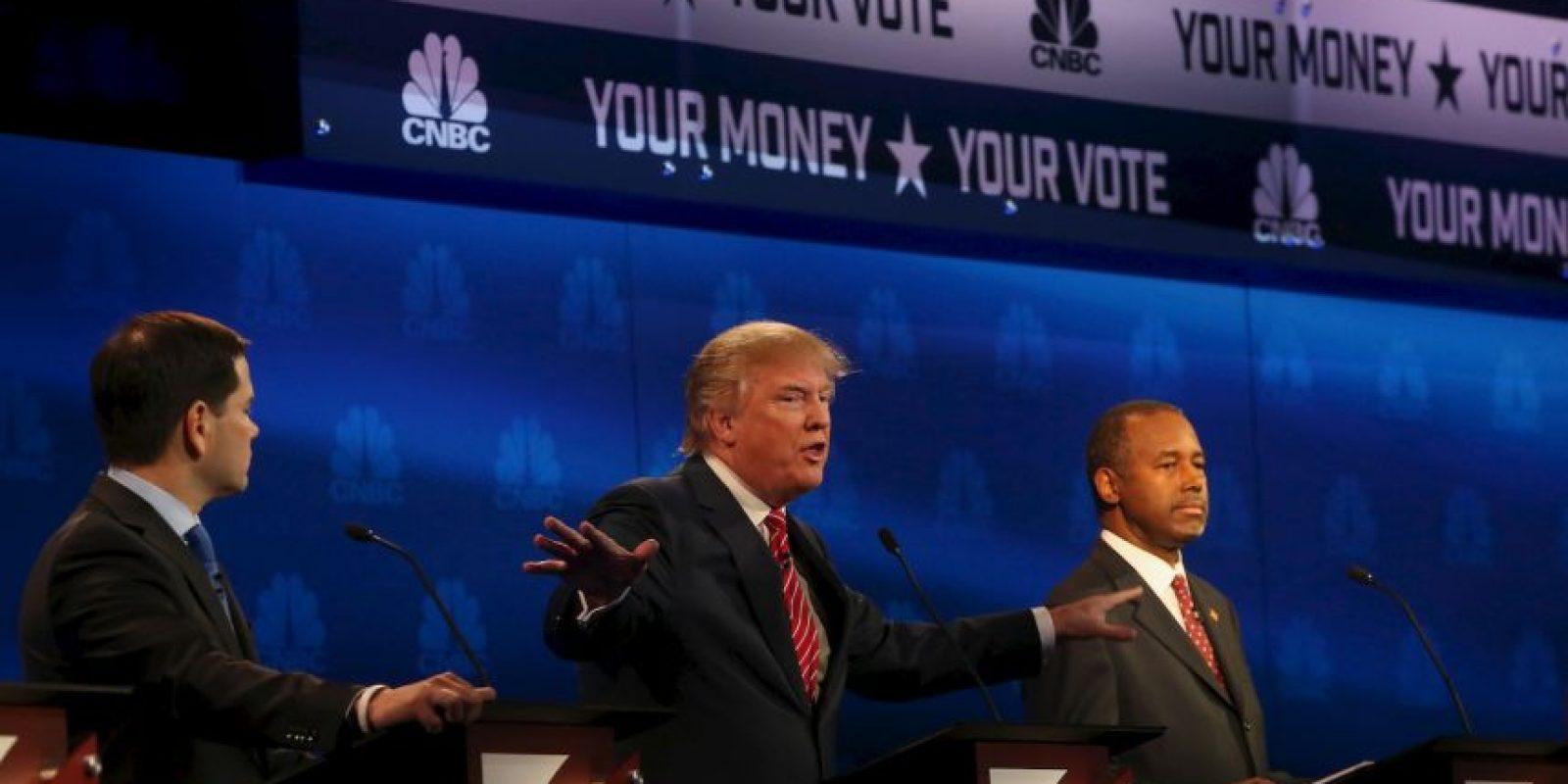 """Jeb Bush le pidió al senador de Florida Marco Rubio que renunciara a su puesto, a lo que el cubanoamericano le contestó: """"alguien te ha dicho que atacándome te vas a beneficiar"""". Foto:Getty Images"""