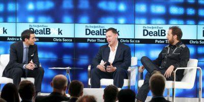 2. Peter Thiel (#234 en la lista de los más ricos del mundo) Foto:Getty Images