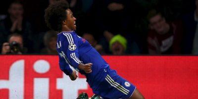 """Los """"Blues"""" sacaron los tres puntos, gracias a un golazo en los últimos minutos de Willian Foto:Getty Images"""