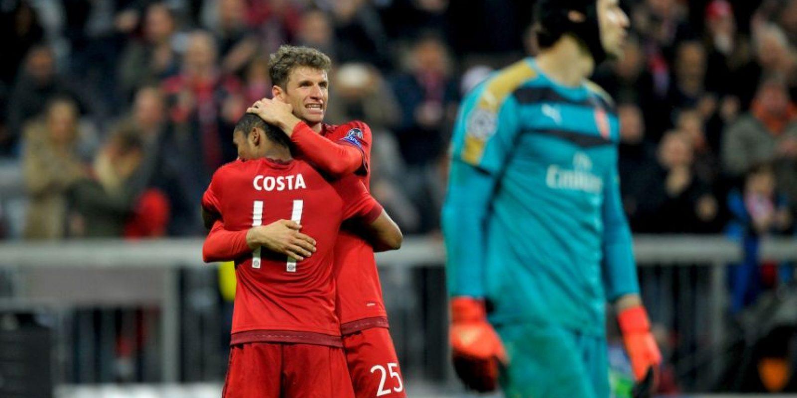 Bayern Múnich humilló al Arsenal Foto:Getty Images