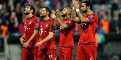 Los bávaros le encajaron cinco dianas al Arsenal Foto:Getty Images