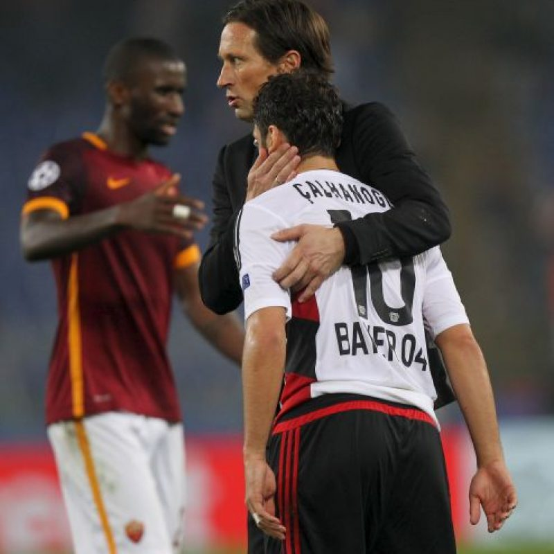 Roma impuso su condición de local sobre Bayer Leverkusen Foto:Getty Images