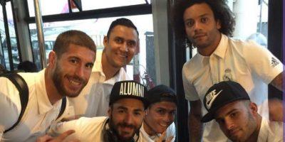 Foto íntima del Real Madrid con photoshop se vuelve viral
