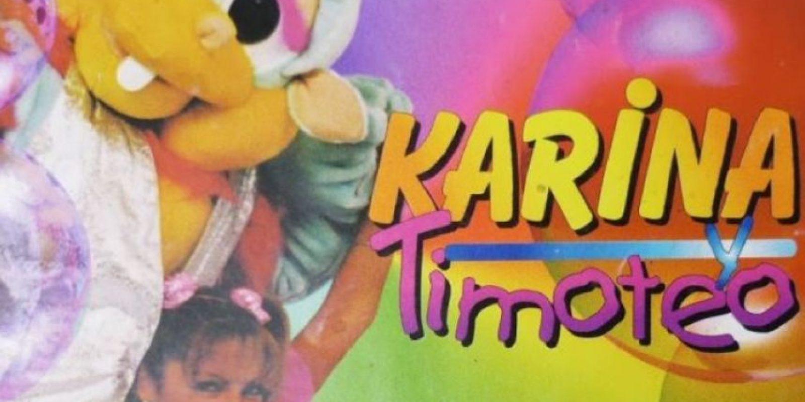 """""""Karina y Timoteo"""" comenzó a transmitirse en 1995 y finalizó en 1999. Fue uno de los programas más exitosos de la televisión peruana y se transmitía por cuatro horas. Foto:vía América TV"""