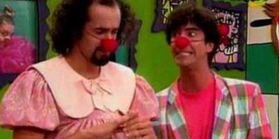 """""""Pataclaun"""" fue un popular programa de clown y comedia que se transmitió en Frecuencia Latina de 1997 a 1999. Contaba la historia del matrimonio de """"Wendy"""" y """"Machín"""" en una casa habitada por tres fantasmas. Foto:vía Frecuencia Latina"""
