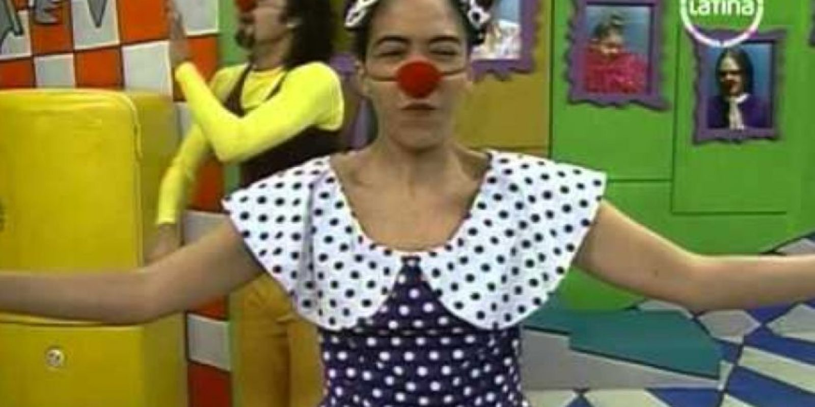 """Wendy Ramos era """"Wendy"""", la abnegada y tonta esposa de """"Machín"""", que de vez en cuando sacaba las uñas. Foto:vía Frecuencia Latina"""