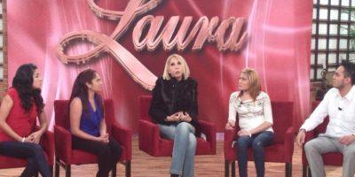 Trasladó su talk show a Televisa y por supuesto, el programa es tan polémico que hasta tiene demandas en su contra. Foto:vía Facebook/Laura Bozzo