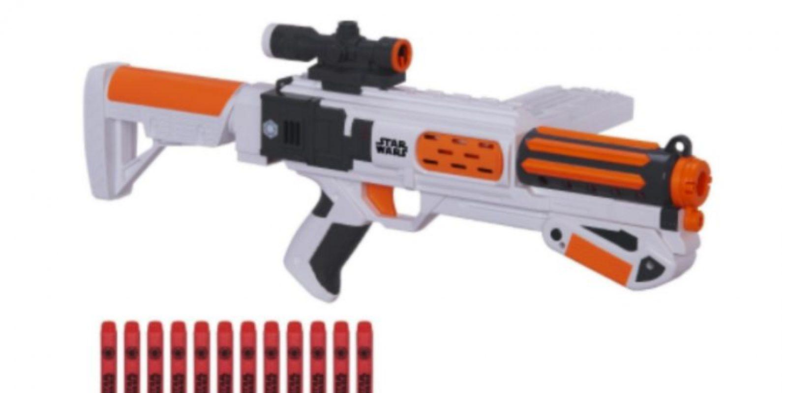 Pistola Nerf de Stormtrooper de la Primer Orden Foto: NERF