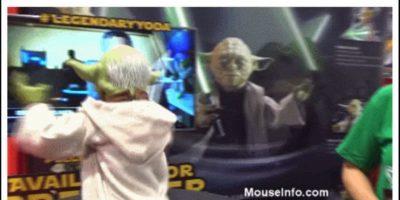 """Legendaria figura interativa de """"Yoda"""" Foto:Spin Masters"""