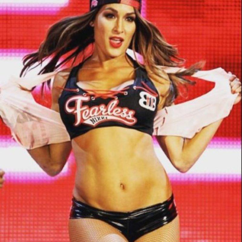 Y la actual pareja de John Cena Foto:WWE