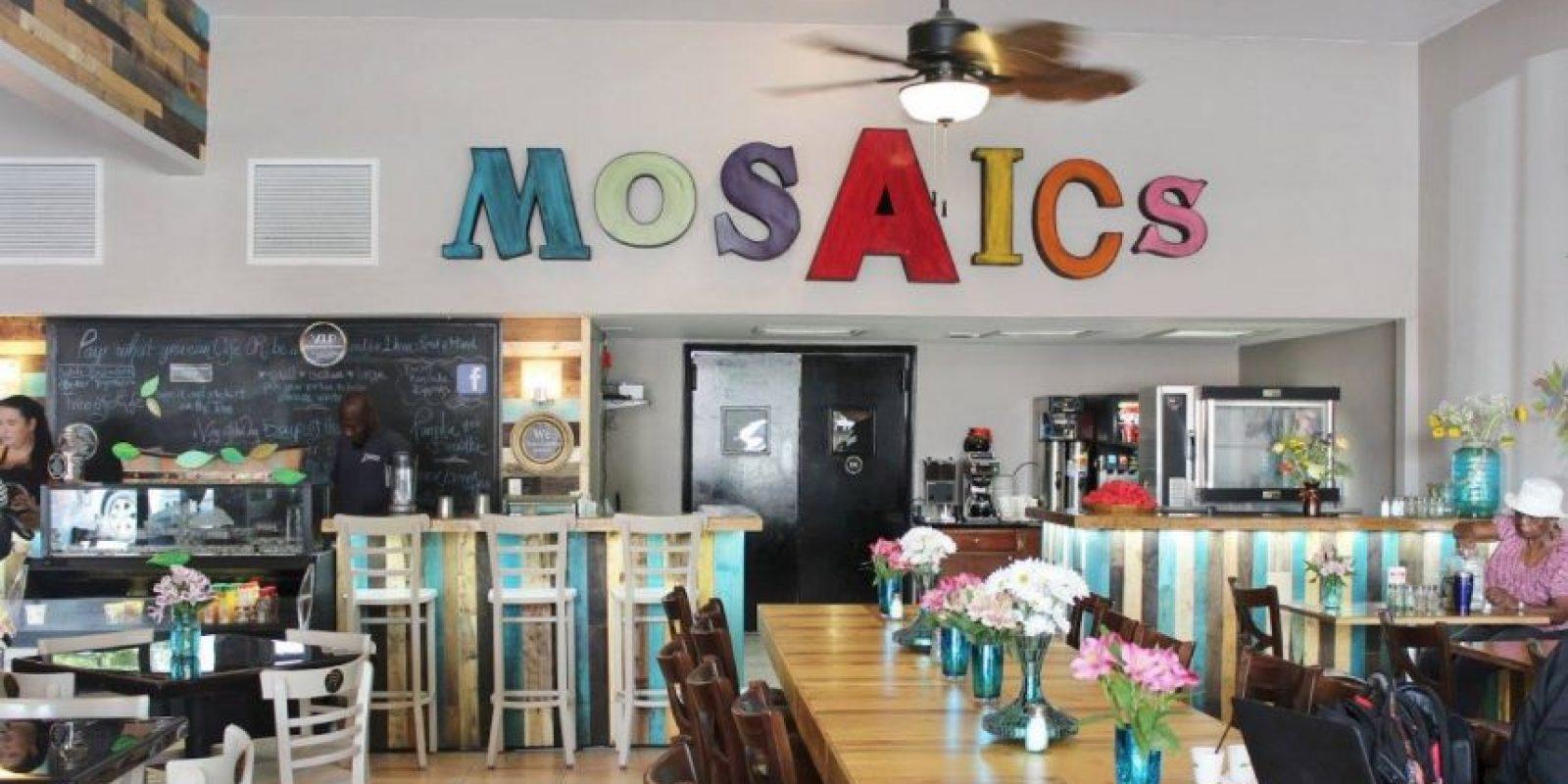 """El restaurante """"Mosaic Community Cafe"""" se abrió al público el martes. Foto:Vía facebook.com/mosaicscommunitycafe"""