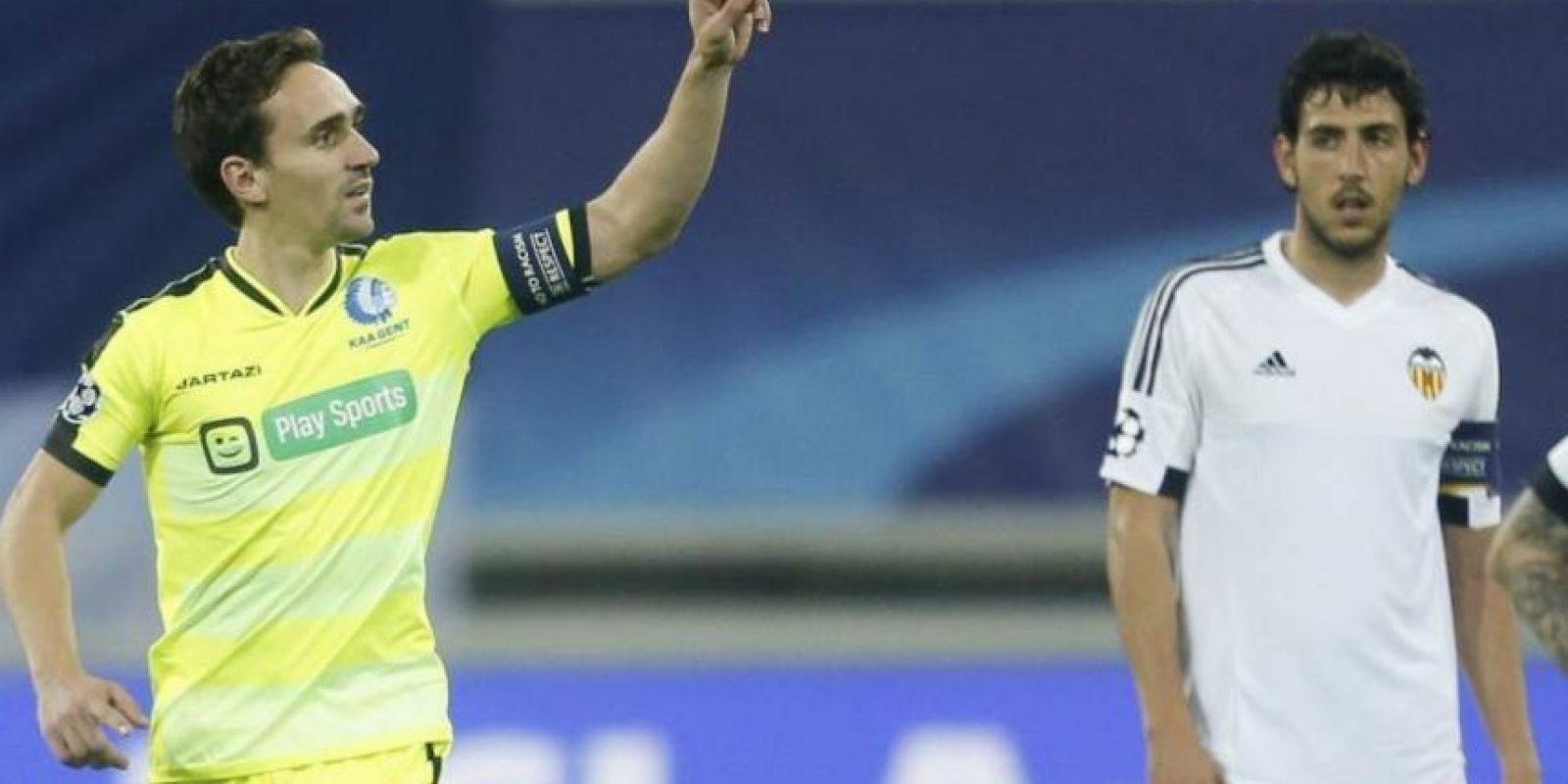 Valencia cayó 1-0 con el Gent, de Bégica Foto:Getty Images