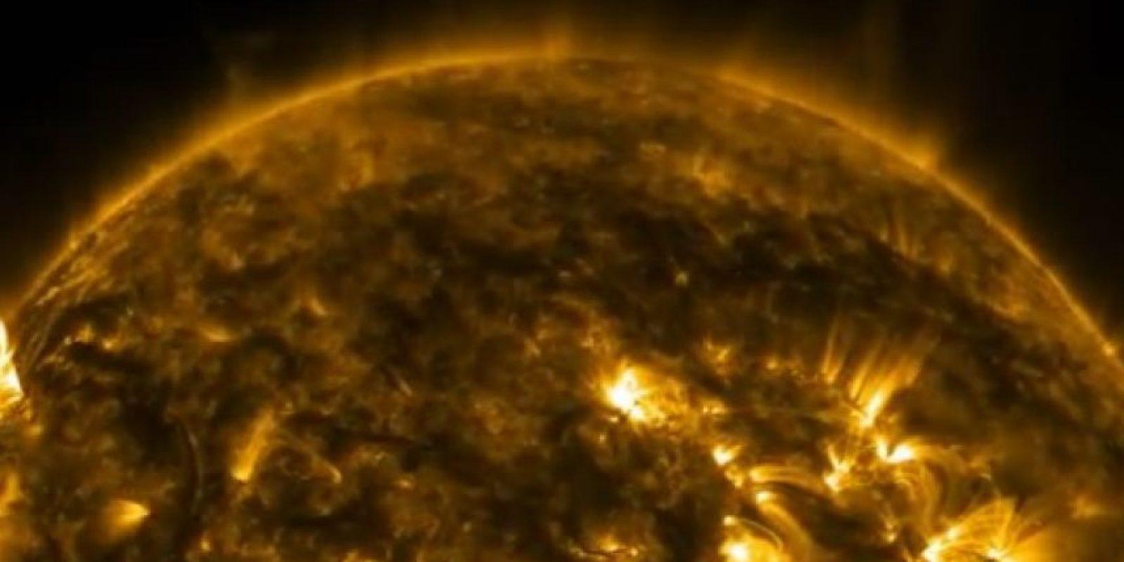 El Sol en ultra alta definición Foto:Nasa