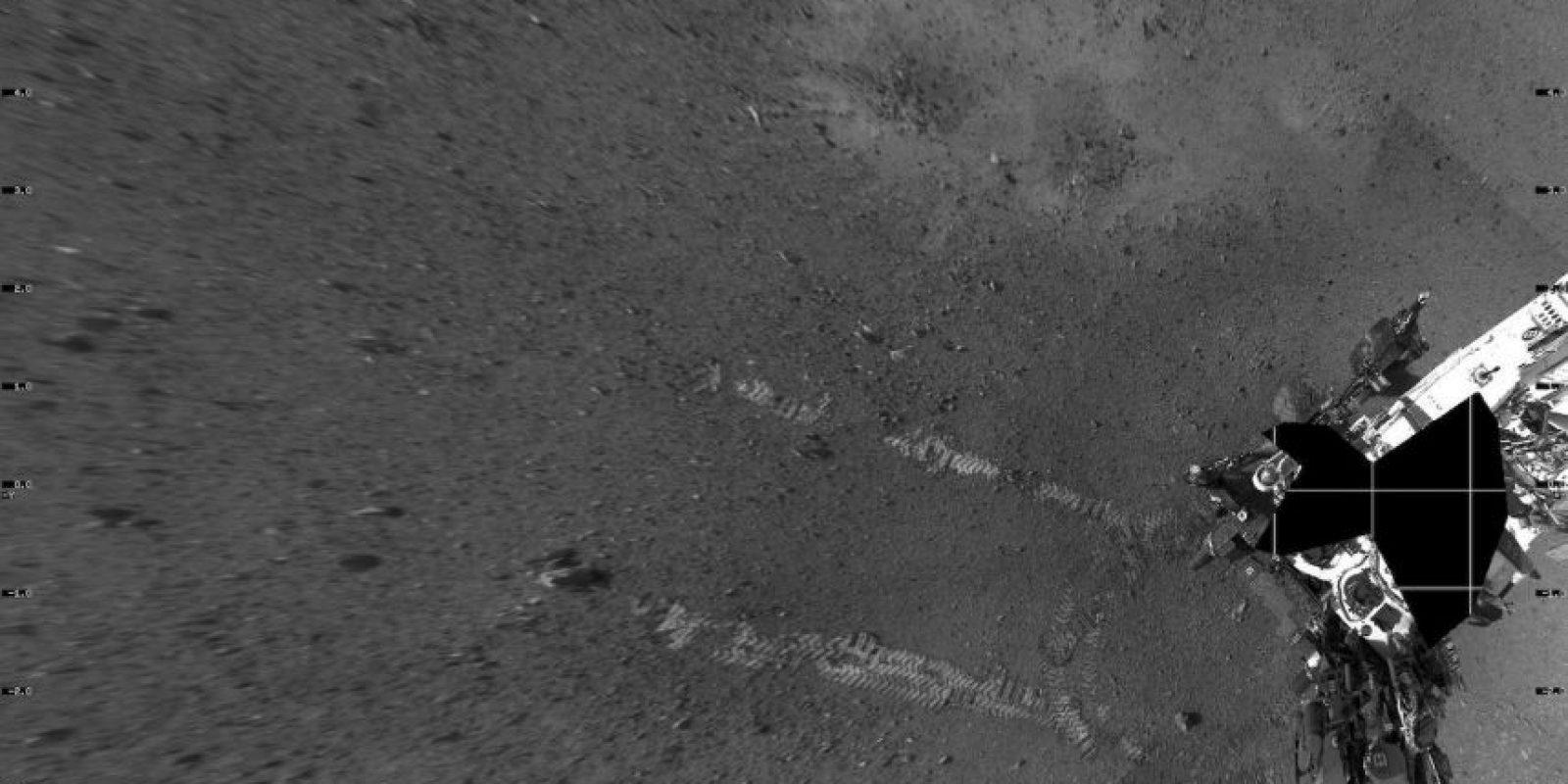 Llegó a Marte el 6 de agosto de 2012 Foto:Getty Images