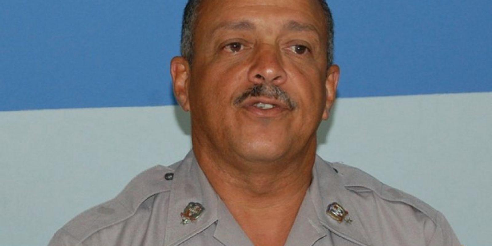 Jefe de la Policía Nacional, Nelson Peguero Paredes Foto:Archivo