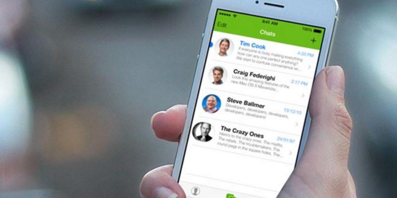 5- Desde enero pasado, 30 mil millones de mensajes se envían o reciben diariamente en WhatsApp. Foto:Pinterest