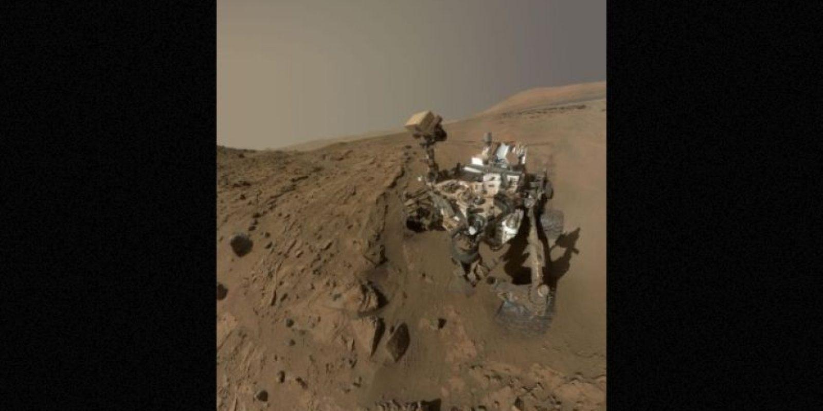 """Ya que el envío más """"exprés"""" de la Tierra a Marte tarda nueve meses, los astronautas deberán de cultivas sus alimentos en el árido suelo marciano Foto:Getty Images"""