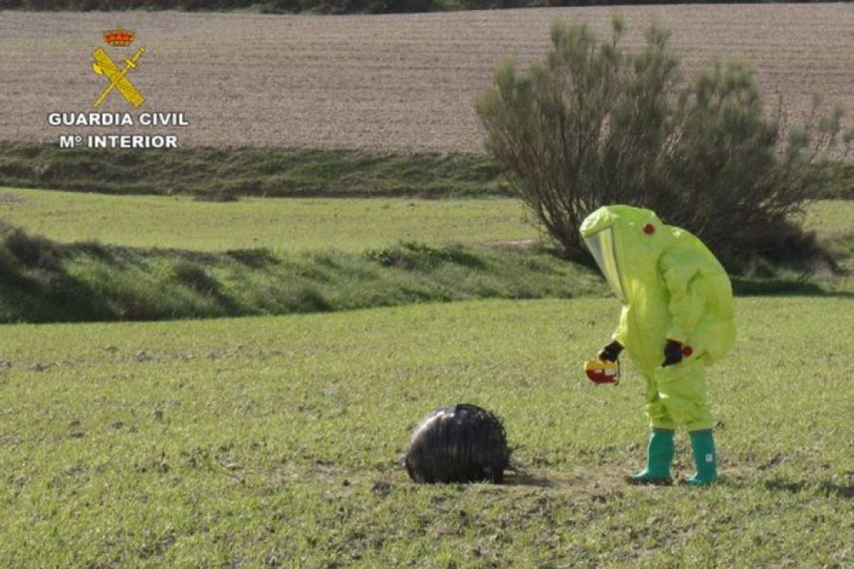 Se le realizaron pruebas nucleares, radiológicas, bacteriológicas y químicas Foto:Guardia Civil