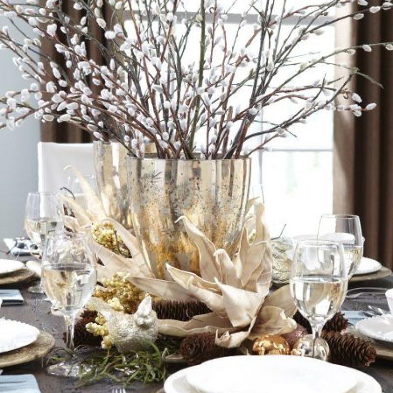 3Centros de mesa. Puedes poner a volar tu creativadadelaborando detalles para la sala y áreas principalesde la casa. Foto:FUENTE EXTERNA