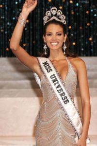 Zuleyka Rivera fue Miss Universo en 2006, con solo 18 años. Foto:vía Getty Images