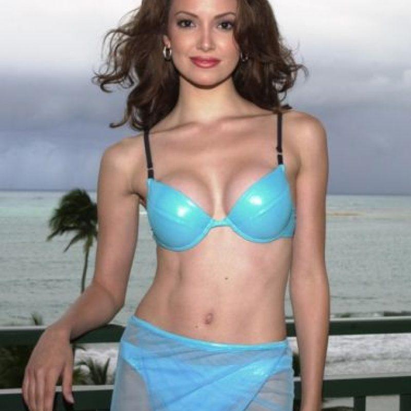 Denise Quiñones ganó Miss Universo en 2001. Foto:vía Getty Images
