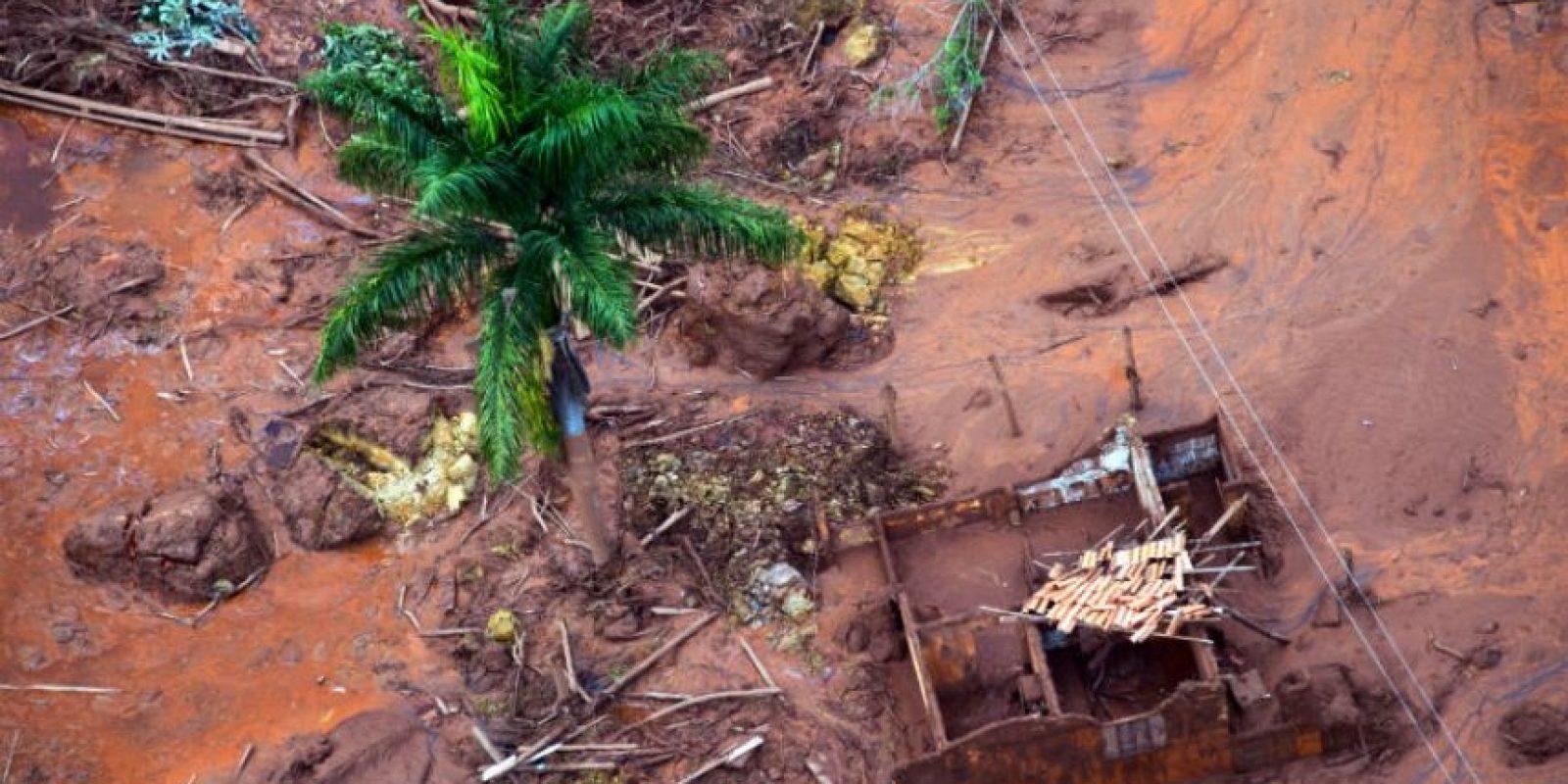 Cientos de viviendas fueron dañadas. Foto:AFP