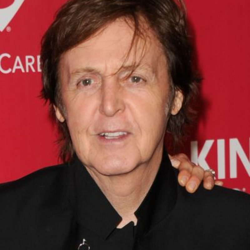 Paul McCartney – Músico británico. Foto: Getty Images