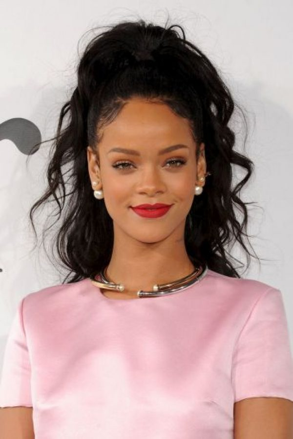 Rihanna – Cantante barbadense. Foto: Getty Images