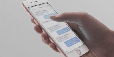 Por primera ocasión, Apple incorpora un sistema multitouch para detectar la intensidad con la que ejercen presión sobre la pantalla del teléfono inteligente. Es de gran utilidad para ingresar a menús, vistas previas de contenido, entre muchas acciones más. Foto:Apple