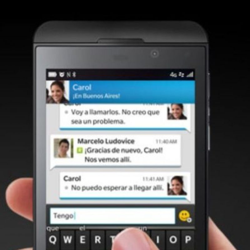 6- BlackBerry Messenger. Foto: BlackBerry