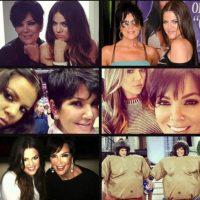 Además compartió estas fotografías con su madre. Foto:vía instagram.com/khloekardashian