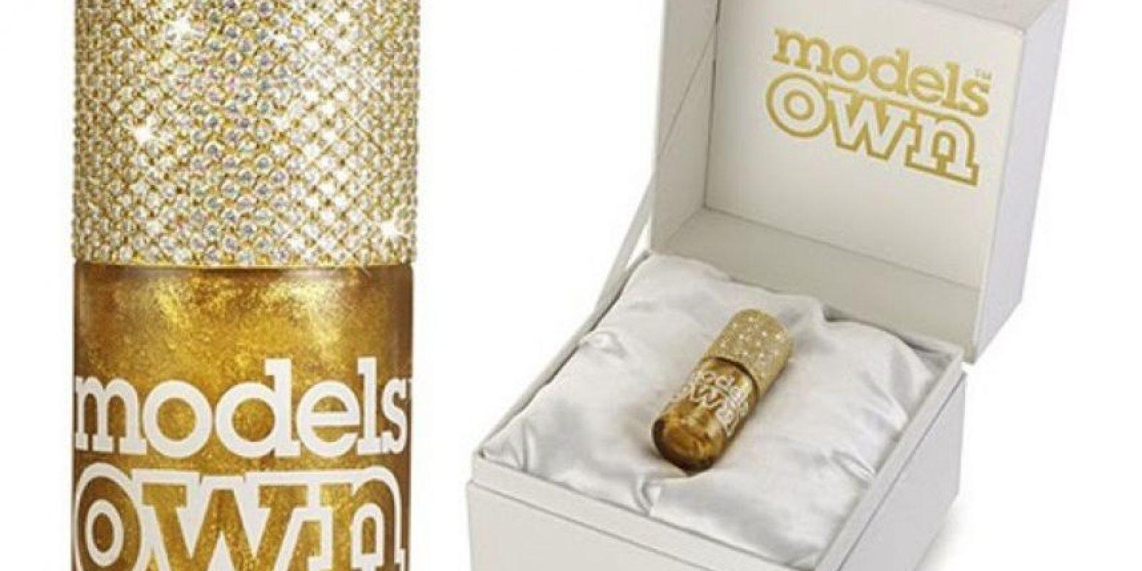 Este esmalte de uñas cuesta 130 mil dólares Foto: Models Own
