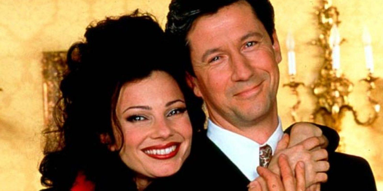 """Al final deja al lado su relación profesional y se casa con """"Fran"""". Foto:vía TriStar Television"""