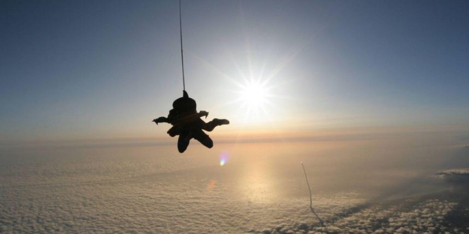 Saltos impactantes Foto:Vía Twitter