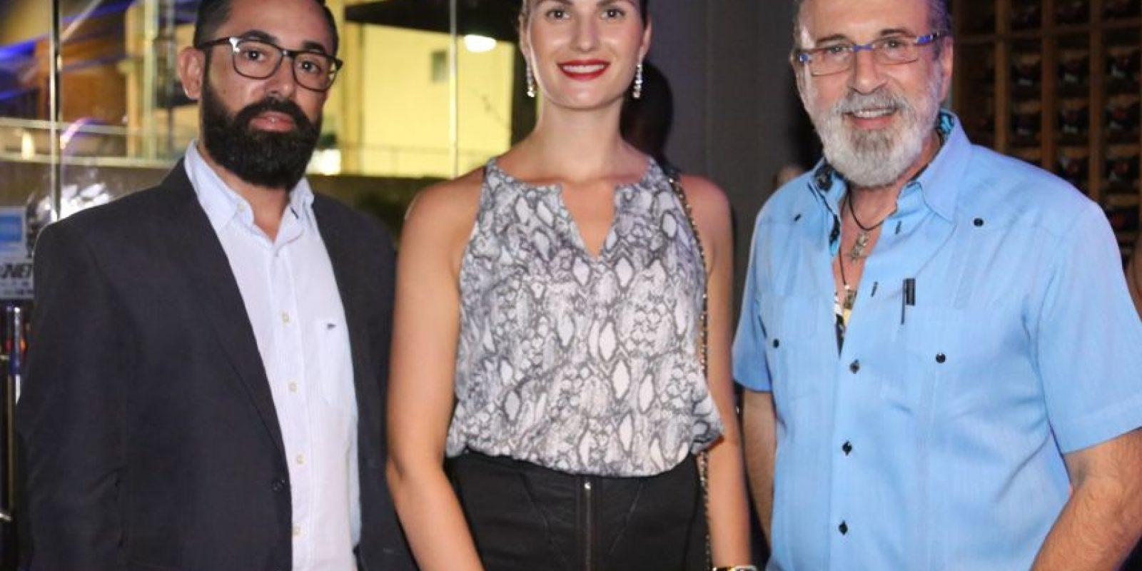 Yani Santos, Francisco Ramírez y Deysi Ciprian