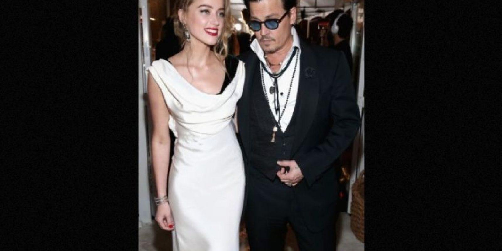 En aquel momento, la ahora esposa de Johnny Depp se refirió a su relación con la fotógrafa Tasya van Ree, con quien salió desde 2008 hasta 2011. Foto:Getty Images