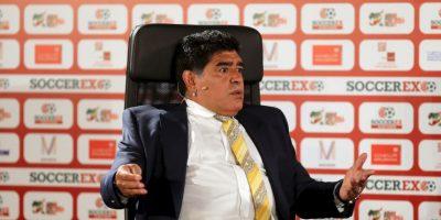 Como jugador se coronó en el Mundial de México 1986 Foto:Getty Images