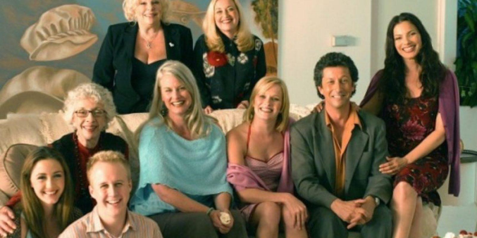 El elenco se reunió en 2004. Foto:vía TriStar Television