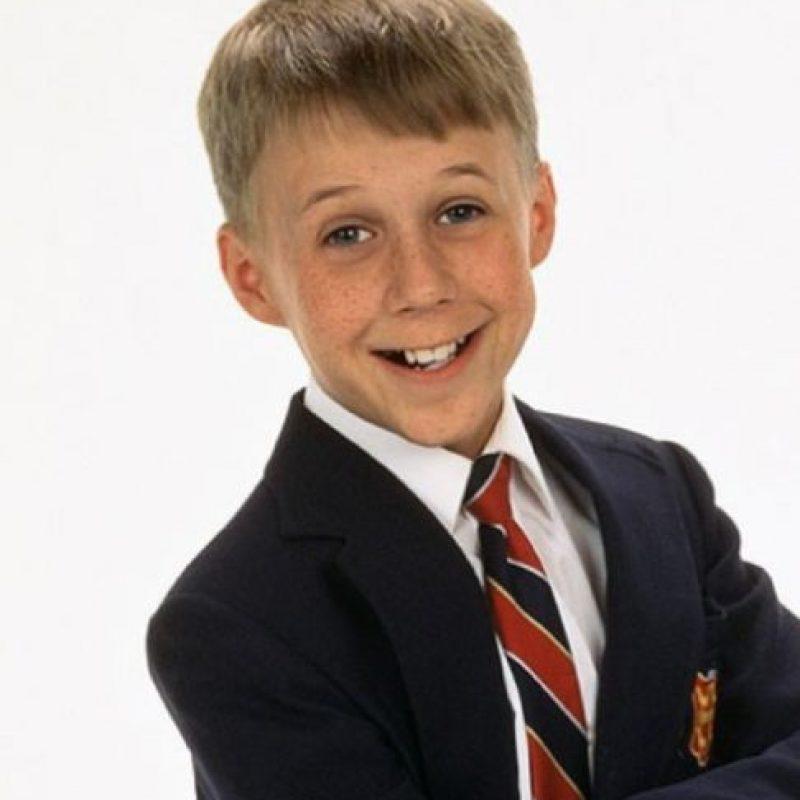 """Benjamin Salisbury era """"Brighton"""", el hijo de en medio de """"Maxwell"""". """"Yetta"""" lo llama """"Schmooey"""". Foto:vía TriStar Television"""