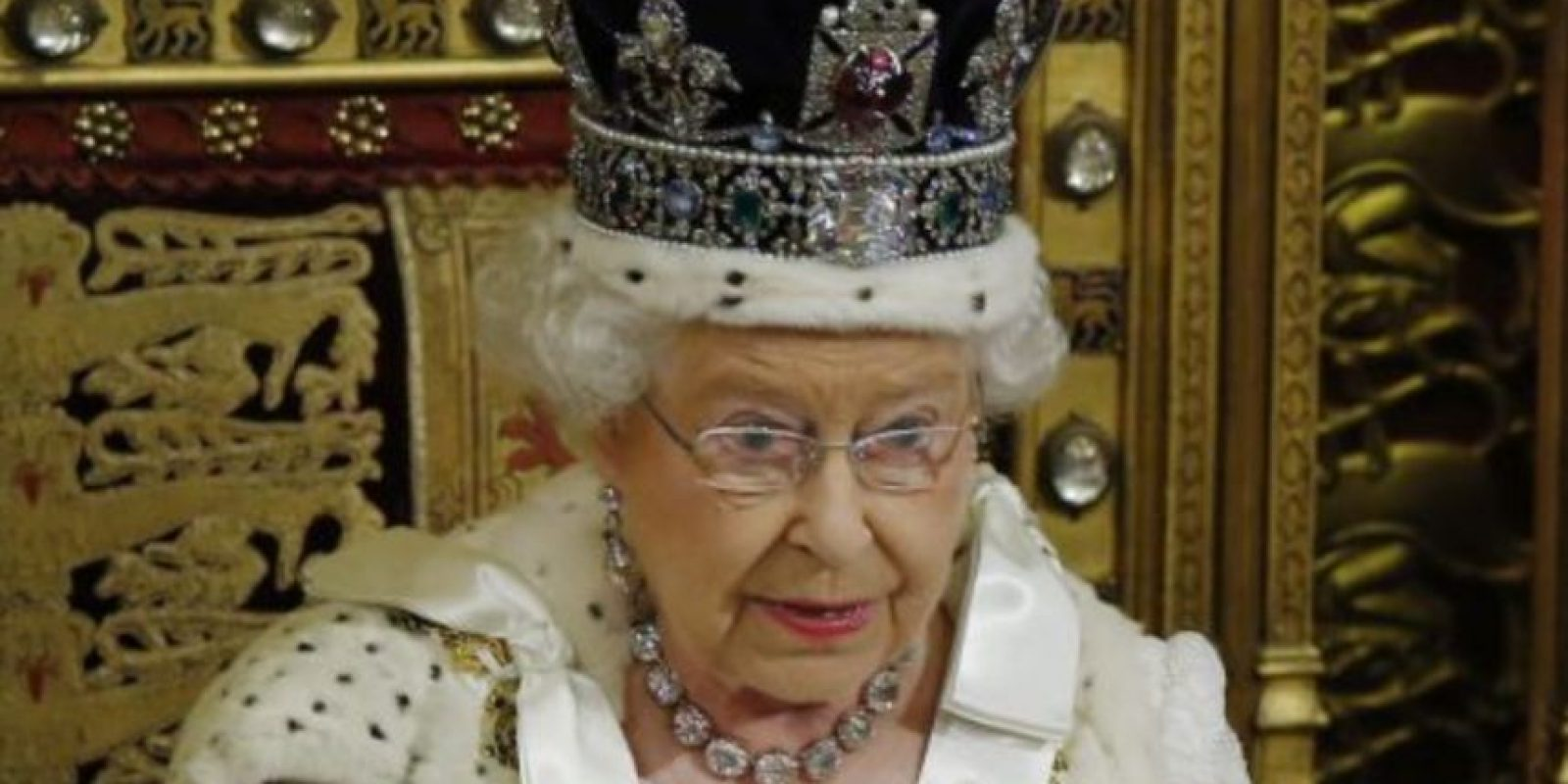 La Reina Elizabeth II de Inglaterra, quien gobierna desde 1952. Foto:Getty Images