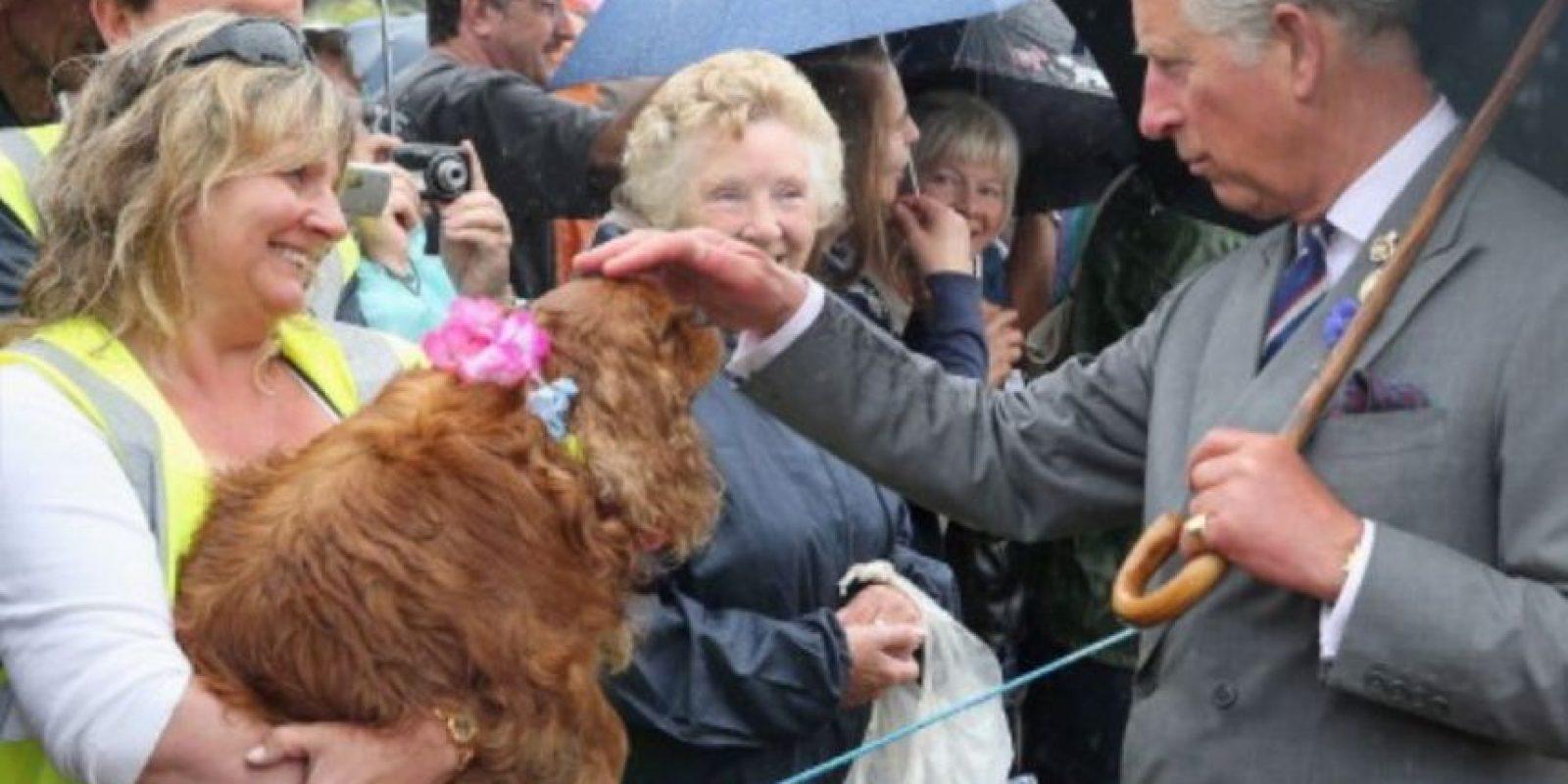 El Príncipe Carlos de Inglaterra, primero en la línea de sucesión de la corona. Foto:Getty Images
