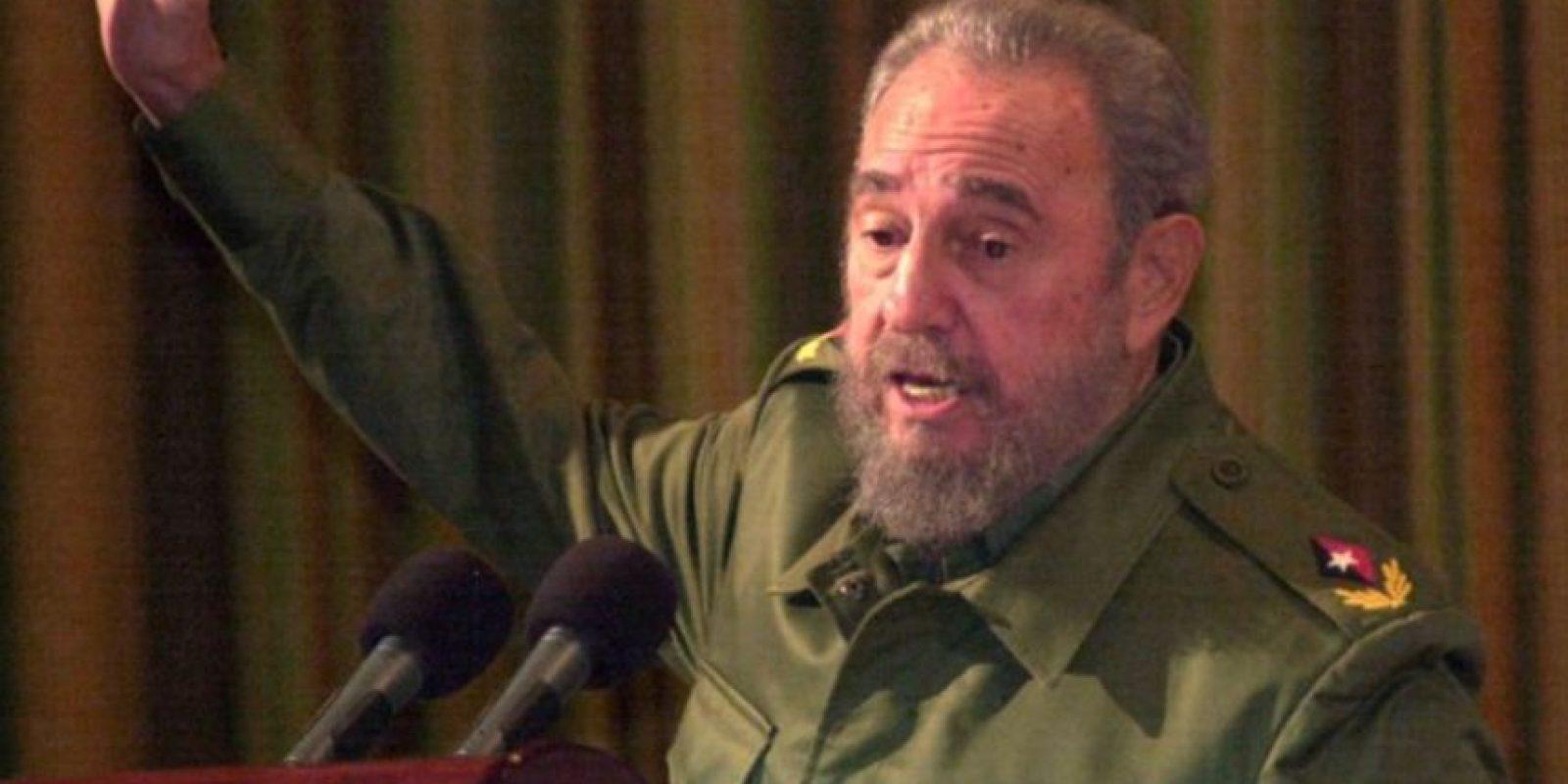 Fidel Castro Ruz, líder de Cuba desde 1959 hasta 2008. Foto:Getty Images