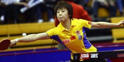 2.- Zhang – Más de 100 millones de personas, como Zhang Yining, jugadora de tenis de mesa profesional. Foto:Getty Images